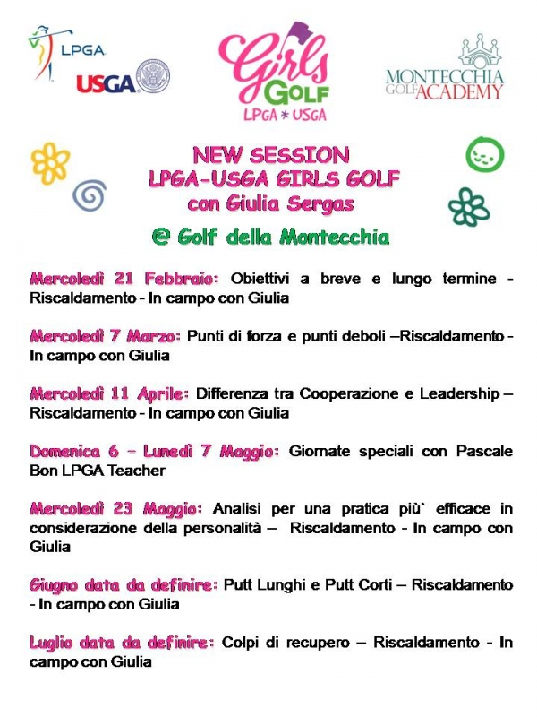 GIRLS GOLF LPGA-USGA 2018
