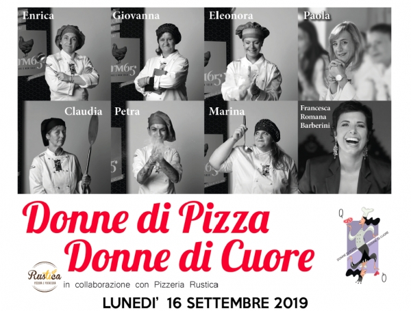 DONNE DI PIZZA DONNE DI CUORE